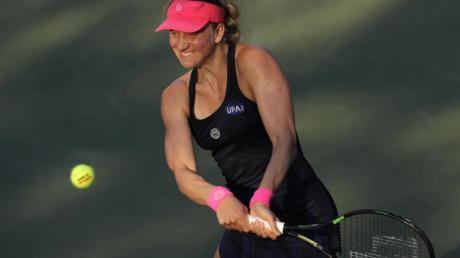 Mona Barthel ist beim WTA-Turnier in Thailand ausgeschieden. Foto: Kevin Hagen/AP