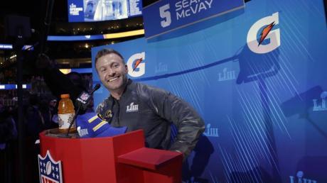 Sean McVay ist der Cheftrainer der Los Angeles Rams.