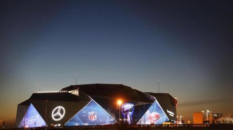 In Atlanta wird im Mercedes-Benz Stadionder 53. Super Bowl ausgetragen.