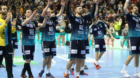 Füchse Berlin lassen im EHF-Pokal nichts anbrennen. Foto: Andreas Gora