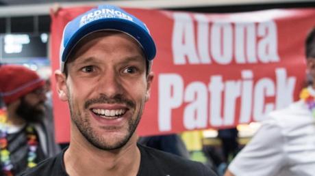 Ironman-Champion Patrick Lange läuft den Berliner Halbmarathon mit. Foto: Andreas Arnold