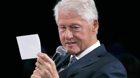 Bill Clinton bezeichnete Dirk Nowitzki als «Weltklasse-Mensch».