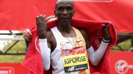 Eliud Kipchoge hält den Marathon-Weltrekord.