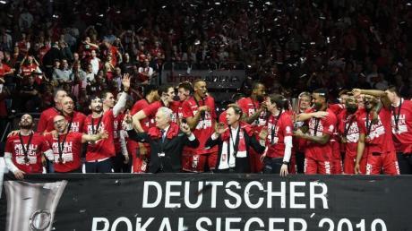 Brose Bamberg wurde in diesem Jahr deutscher Basketball-Pokalsieger.