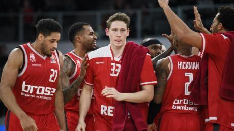 Brose Bamberg glich die Viertelfinal-Serie aus. Foto: Nicolas Armer