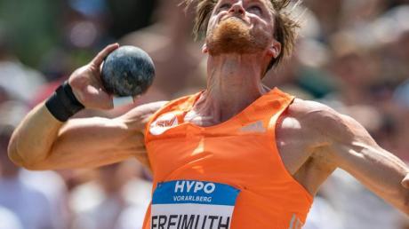 Rico Freimuth war mit sich unzufrieden. Foto: Expa/Peter Rinderer/APA