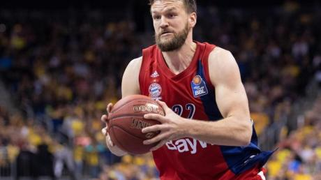 Bester Münchner beim Sieg gegen Basketball Löwen Braunschweig:Danilo Barthel. Foto: Monika Skolimowska