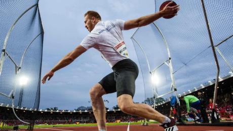 Christoph Harting wurde mit einer Weite von 62,88 Metern Sechster.