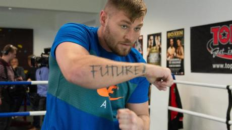 Geht selbstbewusst in den Kampf gegen Tyson Fury: Tom Schwarz.