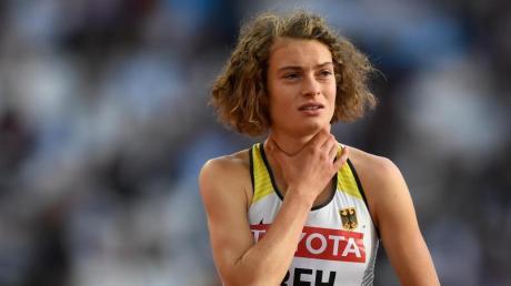 Langläuferin Alina Reh vom SSV Ulm startet an diesem Wochenende bei der Leichtathletik-WM in Doha.