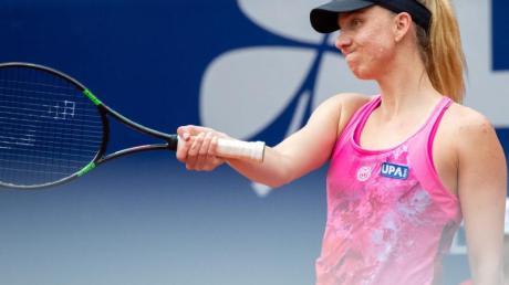 Mona Barthel flog gegen die belgische Qualifikantin Greet Minnen raus. Foto: Daniel Karmann