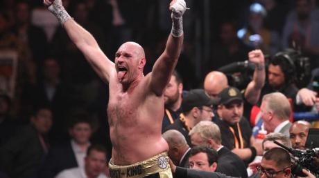 Tyson Fury ist einer der besten Schwergewichtsboxer der Welt.