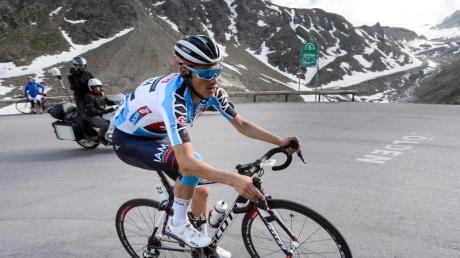 Stefan Denifl darf vier Jahre keine Rennen fahren. Foto: Jean-Christophe Bott/epa