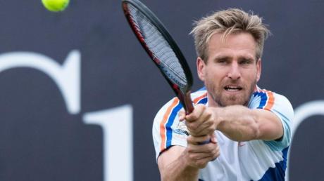 Muss in Wimbledon früh die Heimreise antreten: Peter Gojowczyk. Foto: Silas Stein