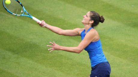 Bekommt es mit Serena Williams zu tun: Julia Görges aus Deutschland in Aktion. Foto: Tim Goode