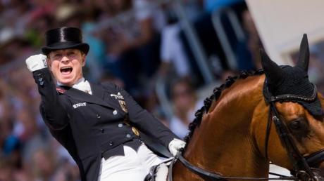 Isabell Werth ist ein Phänomen. Ihren 50. Geburtstag könnte sie in Aachen mit einem Erfolg krönen. Foto: Rolf Vennenbernd