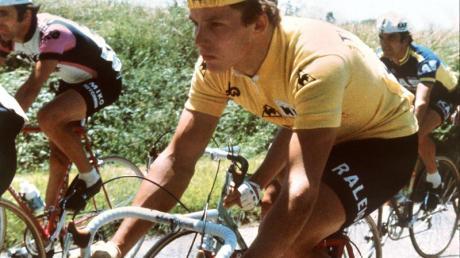 Als «blonder Engel» wurde Dietrich Thurau einst bei der Tour de France gefeiert.