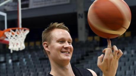 Reist optimistisch zur Basketball-WM: DBB-Kapitän Robin Benzing. Foto: Harald Tittel