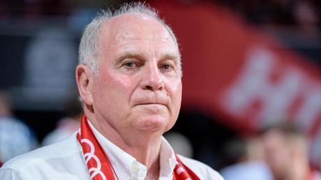 Uli Hoeneß will die Basketballabteilung des FC Bayern weiterhin unterstützen.