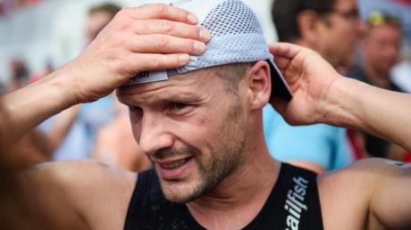 Stimmt sich inNizza auf Hawaii ein: Ironman-Sieger Patrick Lange. Foto: Gregor Fischer