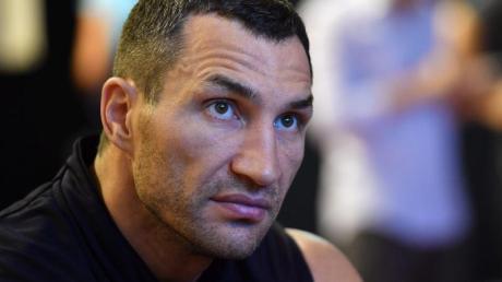 Ex-Box-Weltmeister: Wladimir Klitschko. Foto: Kerstin Joensson/epa