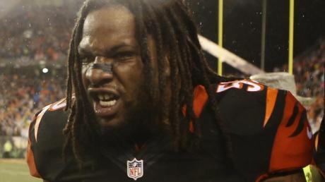 Wurde wegen eines heftigen Kopfstoßes von der NFL gesperrt: Vontaze Burfict. Foto (Archiv): Mark Lyons Foto: Mark Lyons