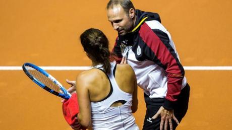 Wird Julia Görges bei den WTA-Turnieren in Linz und in Luxemburg betreuen: Jens Gerlach. Foto Thomas Niedermüller Foto: Thomas Niedermüller