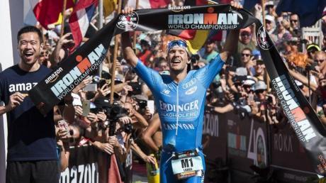 Triathlet Patrick Lange will auf Hawaii seinen Ironman-Titel verteidigen. Foto: Ronit Fahl/Zuma Press/dpa