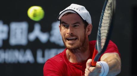 Will sein Comeback bei den Australian Open geben: Andy Murray. Foto: Andy Wong/AP/dpa