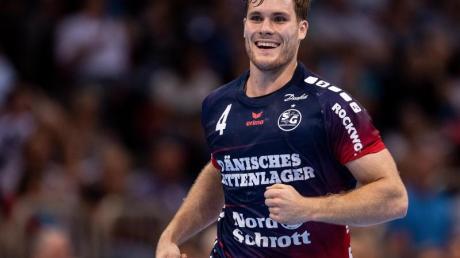 Johannes Golla erzielte fünf Treffer für die SG Flensburg-Handewitt. Foto: Marius Becker/dpa