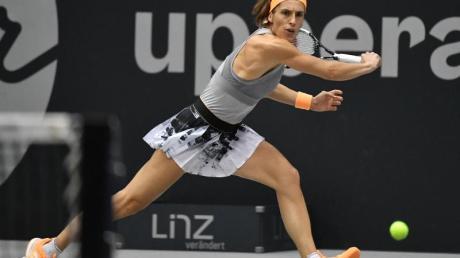 Andrea Petkovic steht beim WTA-Turnier in Linz im Halbfinale.