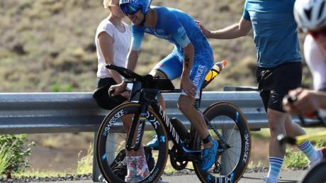 Patrick Lange musste beim Ironman aufgeben. Foto: David Pintens/BELGA/dpa