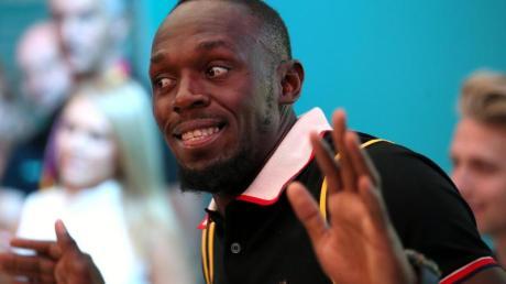 Gibt sich in Tokio die Ehre: Ex-Sprint-Star Usain Bolt.