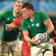 Irland trifft im Viertelfinale der Rugby-WM auf Neuseeland. Foto: Adam Davy/PA Wire/dpa