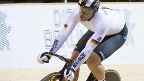 Geht bei der Bahnrad-EM in Apeldoorn an den Start: Maximilian Levy.