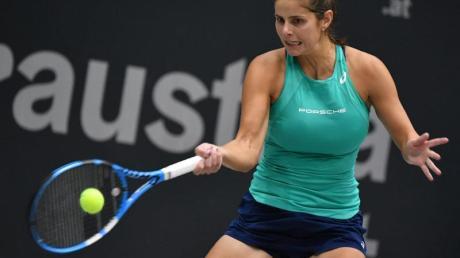Die deutsche Tennisspielerin Julia Görges steht im Finale in Luxemburg.