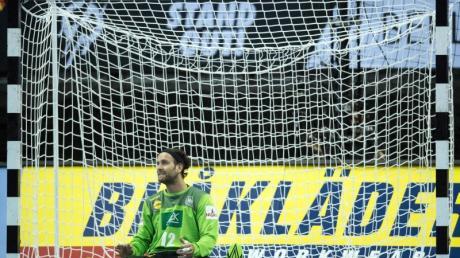Torhüter Silvio Heinevetter wurde nicht für die Testspiele gegen Kroatien nominiert. Foto: Soeren Stache/dpa