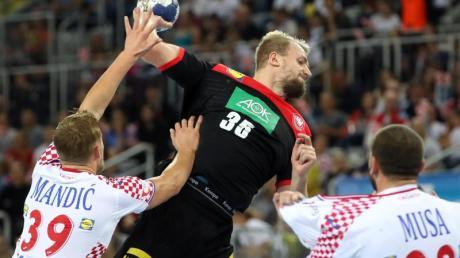 Julius Kühn machte ein starkes Spiel gegen Kroatien. Foto: Damir SENCAR/HINA/dpa