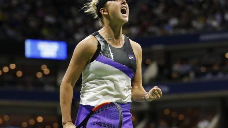 Jelina Switolina hat ihr Auftaktmatch bei den WTA Finals gewonnen.