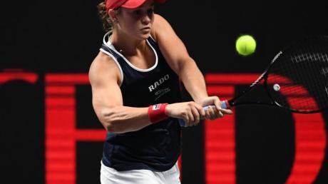 Ashleigh Barty hat sich bei den WTA Finals für das Halbfinale qualifiziert.