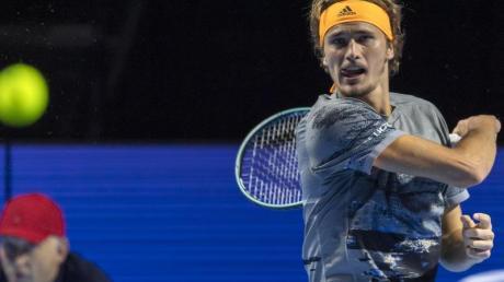 Alexander Zverev will bei den ATP Finals in London seinen Titel verteidigen. Foto: Georgios Kefalas/KEYSTONE/dpa