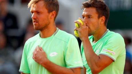 Haben sich für das Saisonabschluss-Turnier der besten acht Teams des Jahres qualifiziert: Kevin Krawietz (l) und Andreas Mies.