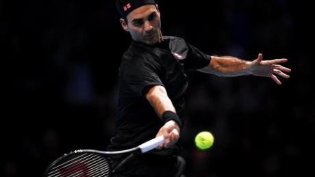 Verlor sein Auftaktmatch bei den ATP Finals: Roger Federer. Foto: John Walton/PA Wire/dpa