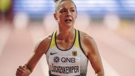 Gina Lückenkemper will künftig in Florida trainieren.