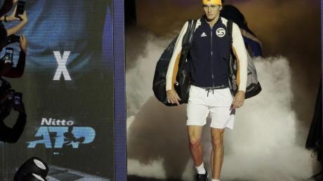Spielt derzeit bei den ATP Finals in London: Alexander Zverev. Foto: Kirsty Wigglesworth/AP/dpa