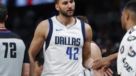 Maxi Kleber blieb bei der Niederlage der Dallas Mavericks ohne Punkte. Foto: David Zalubowski/AP/dpa