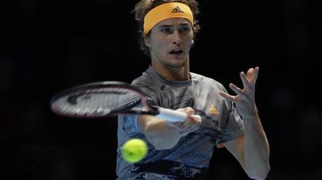 Nummer sieben der Tennis-Weltrangliste: Alexander Zverev. Foto: Kirsty Wigglesworth/AP/dpa
