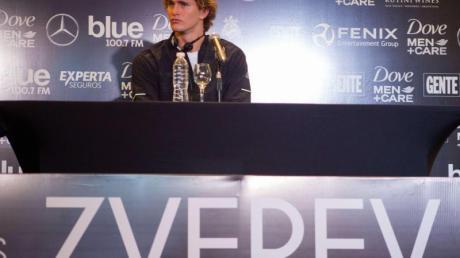 Will einen Grand Slam gewinnen, weil er der Beste ist, nicht weil die Topspieler aufgehört haben: Alexander Zverev. Foto: Roberto Almeida Aveledo/ZUMA Wire/dpa