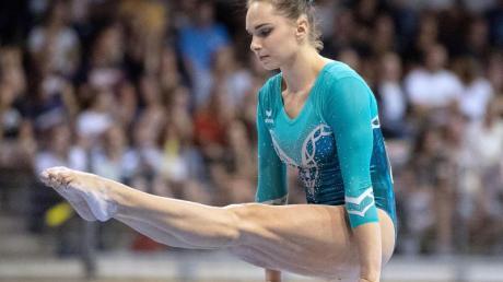 Sophie Scheder will beim Weltcup in Cottbus einen wichtigen Schritt Richtung Olympia machen.
