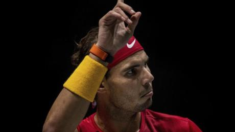 Steht mit Spanien im Davis-Cup-Halbfinale: Rafael Nadal.